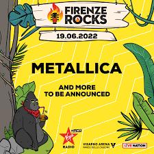 Firenze Rocks 2022 - 16/06/2022 (4 Tage) - Firenze - Toscana - Italien |  Concerts-Metal Event Kalender