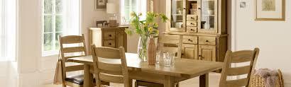 Denver Oak Dining Room Furniture Free Delivery