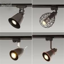 kitchen rail lighting. Black Rustic LED Track Light COB 10W Ceiling Rail Lights Spotlight For Kitchen Fixed Clothing Shoes Lighting