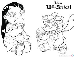 lilo stitch coloring pages lilo and stitch coloring pages with lilo and stitch coloring pages enjoying