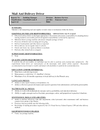 Delivery Driver Resume Perfect Knowledge Skills And Regulators Featuring Delivery Driver 30