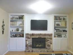 built ins next to fireplace diy around cost in cupboards ideas