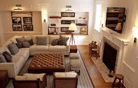 family room furniture layout. if adding a pair of chairs opposite the sectional just closes off room too much and doesnu0027t leave you with good traffic flow ditch them altogether family furniture layout c