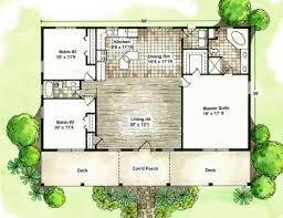 One Room Cabin Floor Plans  Hickory Spring Log Home Floor Plans Cabin Floor Plans