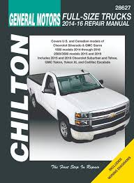 chevrolet, gmc repair manuals for pickup trucks and suvs  at Haynes Repair Manual 2016 Chevrolet Equinox Tail Light Wiring Diagram