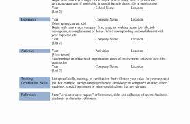 97 Resume Order Good Resumer Example