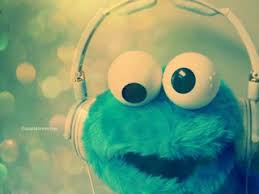 cute cookie monster wallpaper. Music Blue And Cookie Monster Image To Cute Wallpaper