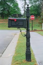 cast aluminum mailbox. Simple Aluminum Better Box Cast Aluminum Mailbox Black Review Closely 1 Of 10FREE  Shipping  Throughout M