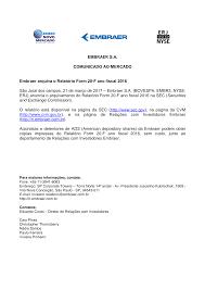 Comunicado 20-F 2016_portugues