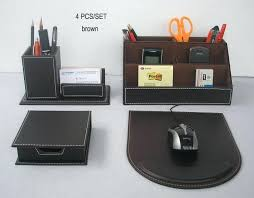 high end office accessories. Leather High End Office Accessories E