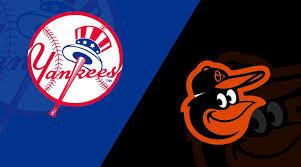New York Yankees Vs Baltimore Orioles 5 20 19 Starting