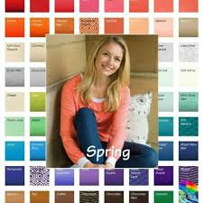 Color Me Beautiful Spring Color Chart So What Is A Light Spring