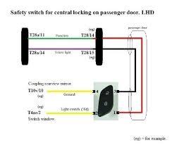 vw polo tsi wiring diagram diagram base Polo 6n2 Central Locking Wiring Diagram 5 Wire Door Lock Diagram
