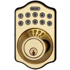 front door keyless entryLockState Electronic Keypad Deadbolt w Remote