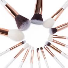 rose gold and white makeup brushes. jessup pearl white/rose gold professional makeup brushes set make up brush tools kit foundation powder definer shader liner-in underwear from mother \u0026 kids rose and white s