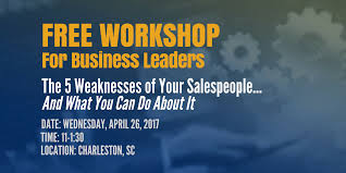the weaknesses of your speople and what you can do about it the 5 weaknesses of your speople and what you can do about it charleston