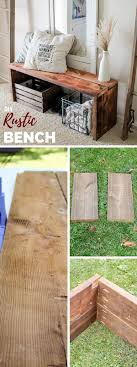 rustic diy furniture. Best 25 Rustic Bench Ideas On Pinterest Wood Industrial And Diy Furniture