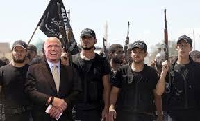 Resultado de imagen de john mccain siria