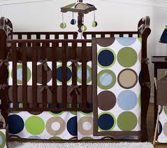 designer dot modern baby boys bedding by sweet jojo designs 9 pc crib set only 51 61