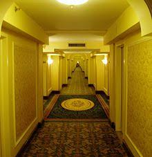 Scary Hallway Hotel Camera Travelling High Definition Pov Stock Footage  Video 4656215 | Shutterstock