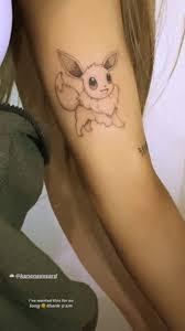 Ariana Grande Pokemon Tattoo Girlfriend
