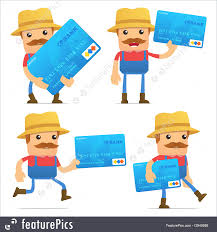 people at work set of funny cartoon farmer in various poses for use in presentations