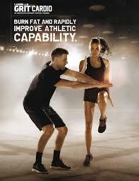 grit cardio es una sesión que bina ejercicios de alto impacto con un entrenamiento explosivo que maximiza el consumo de calorías durante el