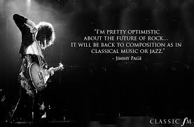 Rock Quotes Unique Jimmy Page Classical Music Quotes From Rock Musicians Classic FM