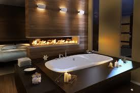 Hintergrundbilder Zimmer Innere Kerzen Feuer Pool Badewanne