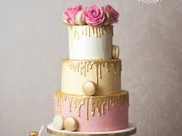 Pretty Simple Wedding Cake Designs