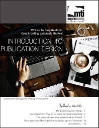 Design 2 Part Magazine Magazine Training International Cover_intro Publication