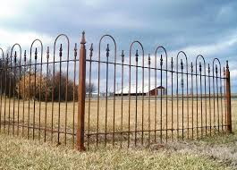 wrought iron fence panels 3 foot tall