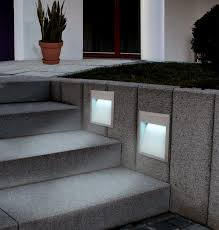 stair outdoor recessed lighting
