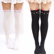 Thigh Store High Kawaii Storenvy Powered harajuku Fashion} Online Cute pantyhose By Cat Tights ·
