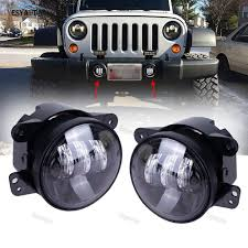 Jeep Lights For Sale Us 49 0 Car Auxiliary Light 4inch Led Fog Light Hot Sale Car Styling Approved Dot Ce Emark High Quality For Jeep Wrangler Cj Jk Tj In Signal Lamp