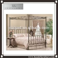 2016 Top-selling Modern Wrought Iron Canopy Bed - Buy Canopy Bed,Iron Canopy Bed,Bed Product on Alibaba.com