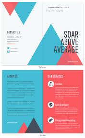 2 Folded Brochure Template 15 Bi Fold Brochure Templates Design Tips
