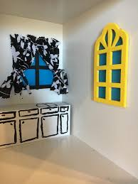 living room yellow color. wall color kitchen shelf living room yellow toy interior design art dolls exhibition modern i