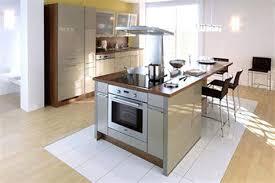 Cuisine Avec Ilot Table Design De Maison