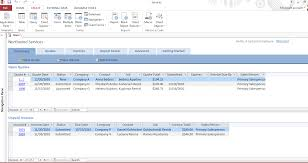 Ms Invoice Templates Msccess Database Templates Document Management System For