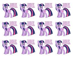 Free Printable Favor Tags My Little Pony Free Printable Party Favor Tag