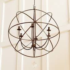 chandelier charming iron orb chandelier foucault chandelier replica round brown chandeliers and brown candle with