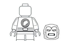 Iron Man Coloring Pages Lego Marvel Super Heroes Legocom Gb
