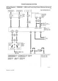 ford truck f ton p u wd l mfi ohv cyl repair wiring diagram window left front only power window anti pinch system page 01 2006