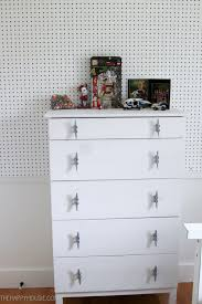 although i did love this cute nautical ikea tarva dresser i also wanted to free up space in finn s room so getting all of his wardrobe into the