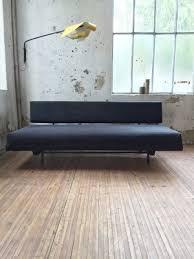 tahiti black suede sofa by andré simard