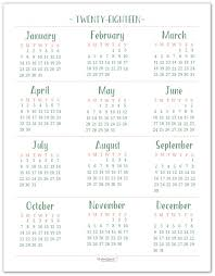 yearly printable calendar 2018 best 25 calendar 2018 ideas on pinterest 2018 printable