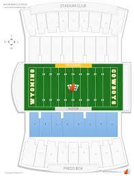 War Memorial Stadium Wyoming Seating Chart War Memorial Stadium Lower Sideline Football Seating