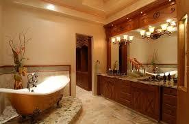 small master bathroom design with lighting ideas