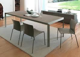modern round extending dining table modern